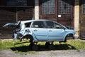 Car crash damaged after the Royalty Free Stock Photos