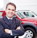 Car dealer Royalty Free Stock Photo