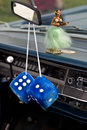 Car dice Royalty Free Stock Photo