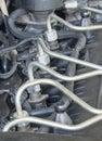 Car diesel engine fuel injectors
