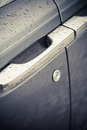 Car door handle Royalty Free Stock Photo
