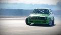 Car drifting on race track Royalty Free Stock Photo