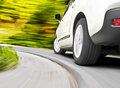 Car driving Stock Photography