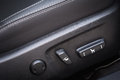 Car electric seat and adjustment button close up Royalty Free Stock Images