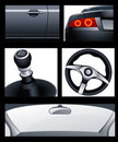 Car elements Royalty Free Stock Photos