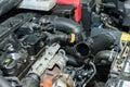 Car engine repair Royalty Free Stock Photo