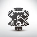Car Engine Symbol