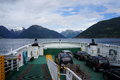 Car ferry in Norway Royalty Free Stock Photo