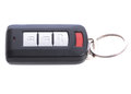 Car fob key clicker isolated on white background Stock Photo