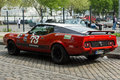 Car ford mustang mach berlin may th oldtimer tage berlin brandenburg may berlin germany Stock Image