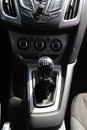 Car gear lever Royalty Free Stock Photography