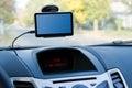 Car gps navigator Royalty Free Stock Photo