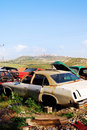 Car graveyard Royalty Free Stock Images