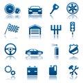 Auto ikony
