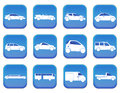 Car icons a set of Royalty Free Stock Image