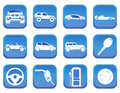Car icons a set of Stock Images