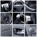 Car Interior - Collage