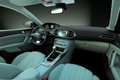 Car interior the inside of the front view Royalty Free Stock Photo