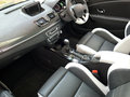 Car interior photo of modern with leather seats Royalty Free Stock Images