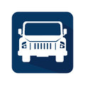 Car jeep vehicle icon