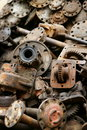 Car junkyard parts Stock Photography