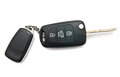 Car key and alarm system charm Royalty Free Stock Photo