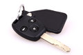 Car key isolated Royalty Free Stock Photography