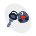 Car key with remote control automobile security lock and alarm transportation new unlock object car wireless technology