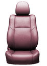 Car leather seat Stock Photos
