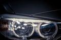 Car LED headlight Royalty Free Stock Photo