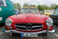 Car mercedes benz sl berlin may th oldtimer tage berlin brandenburg may berlin germany Royalty Free Stock Image