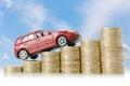 Car money Royalty Free Stock Photo