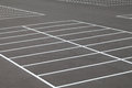 Car parking road marking on the asphalted place Royalty Free Stock Photo