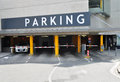 Car parking zone Royalty Free Stock Images