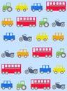 Car pattern seamless Stock Image