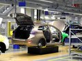 Car production line on which the products Royalty Free Stock Photo