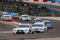 Car Racing(Tom KRISTENSEN,DTMrace,Audi A4 DTM 09) Stock Photo