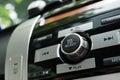 Car radio Royalty Free Stock Photo