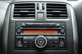 Car radio panel Royalty Free Stock Photo
