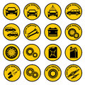 Car repair service icon Royalty Free Stock Photo
