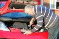 Car repairs. Royalty Free Stock Photo
