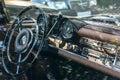 Car retro interior Royalty Free Stock Photo
