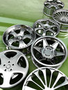 Car rims Royalty Free Stock Photography