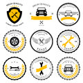 Car service. Auto parts. tools Icons set. Vector