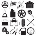 Car Service and Tool Icons
