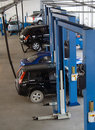 Car Service workshop Stock Photo