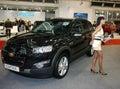 Car show Obraz Royalty Free