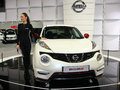 Car show st belgrade international march nissan juke nismo Royalty Free Stock Photo