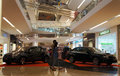 Car show was held at a shopping mall in the city of solo central java indonesia Stock Image