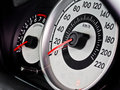 Car speed meter Royalty Free Stock Photo